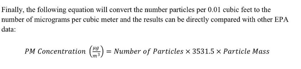 particles